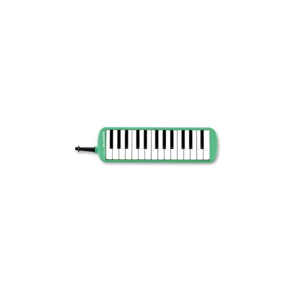 SUZUKIスズキメロディオンMX-27パステルグリーンアルト27鍵f〜g2鈴木楽器鍵盤ハーモニカMX27Melodion{72