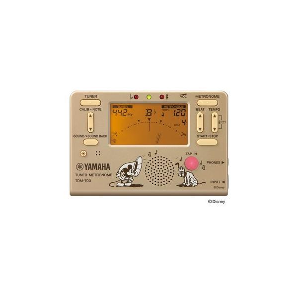 YAMAHA ヤマハ TDM-700DMK ミッキーマウス チューナーメトロノーム 『数量限定品』