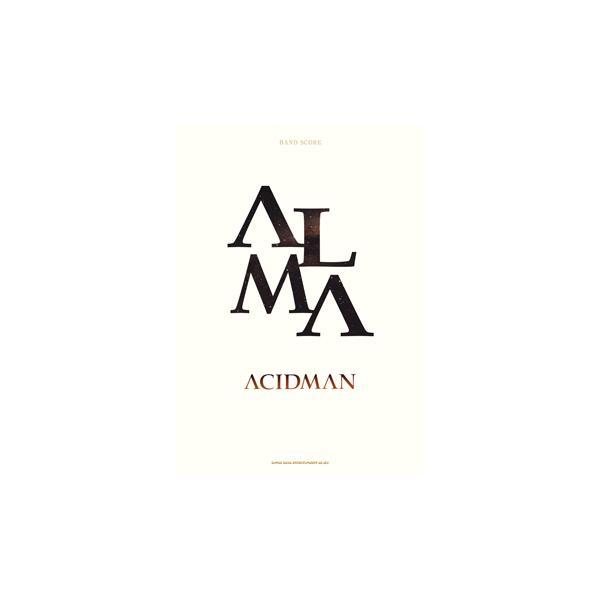 楽譜 バンドスコア ACIDMAN「ALMA」【ネコポスを選択の場合送料無料】