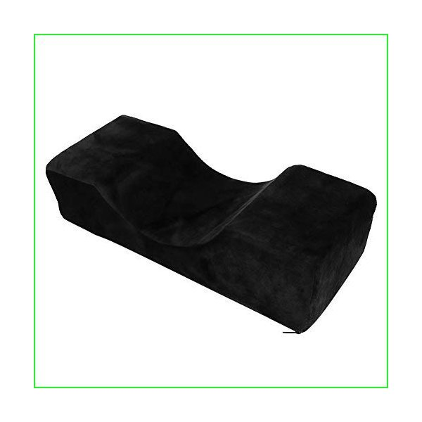 Eyelash Extension Neck Pillow Support, PU Leather Ergonomic Support Extension Curve Pillow for Salon Graft Eyelash Neck Special Grafting Eye