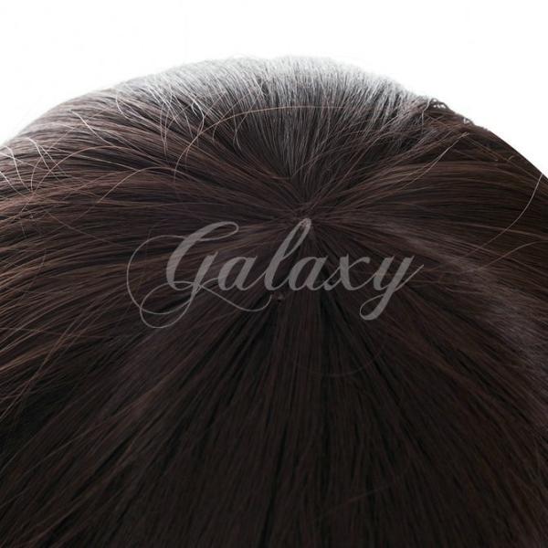 Code:Realize 〜創世の姫君〜  ゲーム ヒロイン カルディア ブラウン 巻き髪 ロング コスプレ ウィッグ fh454a(fh454a)|galaxy88|04