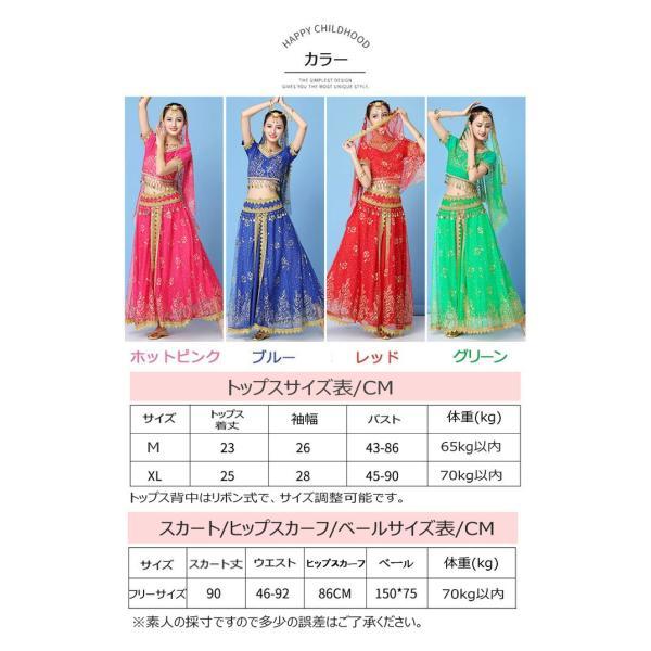 ベリーダンス衣装 インドダンス 演出服 組み合わせ自由 ヒップスカーフ 4色 半袖 舞台 発表会 コスチューム hy0074(hy0074) galaxy88 03
