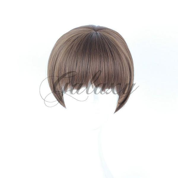 可愛い ボブ風 ボボヘアー ショット ブラウン イベントコスプレウィッグ  wig-645a(wig-645a)