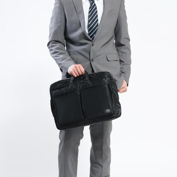 吉田カバン PORTER ポーター バッグ タンカー 通勤ビジネス 3WAYブリーフケース ショルダーバッグ リュック TANKER 622-09308|galleria-onlineshop|06
