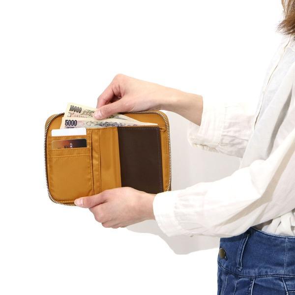吉田カバン 二つ折り財布 ポーター リフト PORTER LIFT ラウンドファスナー 822-16107 メンズ レディース|galleria-onlineshop|07