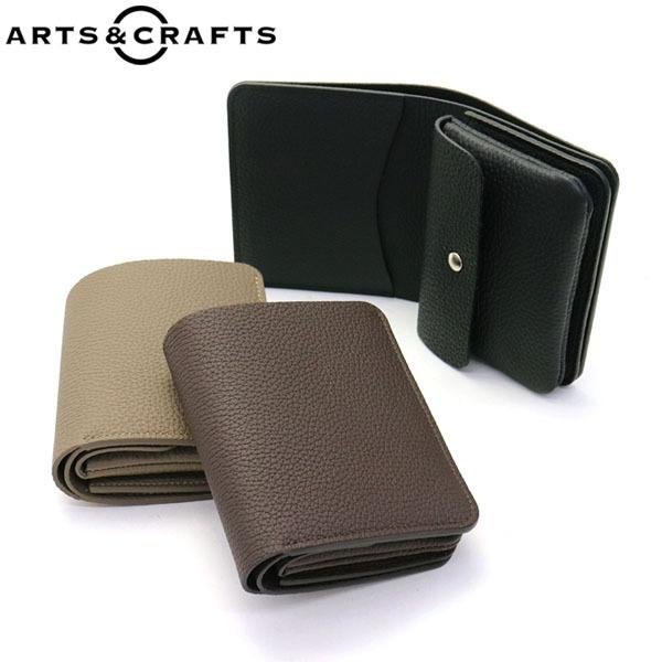 76d5752a815b アーツアンドクラフツ ARTS&CRAFTS 財布 BILLFOLD WALLET 二つ折り財布 SHURUNKEN CALF ACC メンズ  レディースの