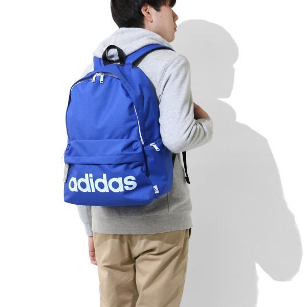 セール アディダス リュック adidas アディダスリュック 23L バッグ 通学 スクールバッグ リュックサック 47442 中学生 高校生|galleria-onlineshop|04