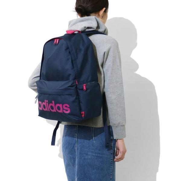 セール アディダス リュック adidas アディダスリュック 23L バッグ 通学 スクールバッグ リュックサック 47442 中学生 高校生|galleria-onlineshop|05