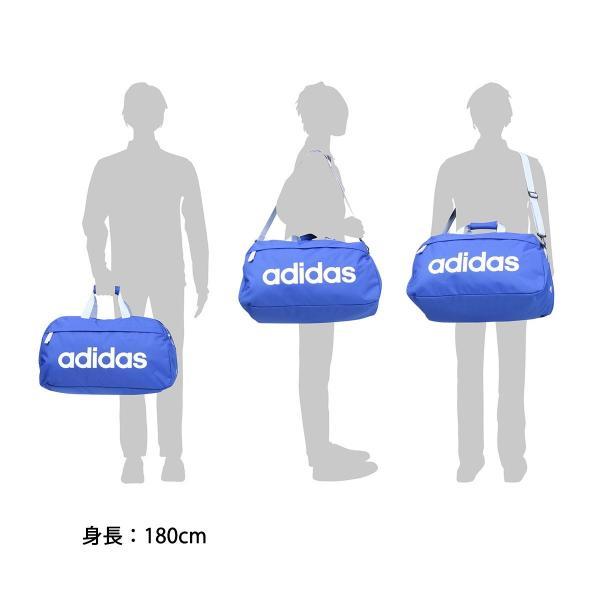 セール アディダス ボストンバッグ adidas 38L バッグ 2WAY スクールバッグ スポーツ 旅行 修学旅行 47897 中学生 高校生|galleria-onlineshop|14