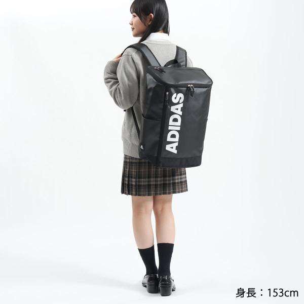 アディダス リュック adidas スクールバッグ リュックサック 23L バッグ 通学 女子 男子 中学 高校 55482|galleria-onlineshop|08