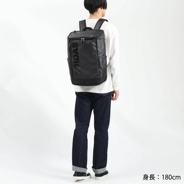 アディダス リュック adidas スクールバッグ リュックサック 23L バッグ 通学 女子 男子 中学 高校 55482|galleria-onlineshop|10