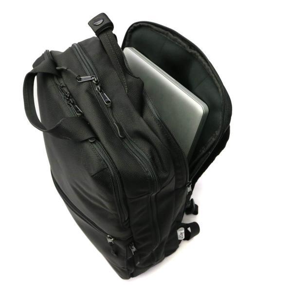 リュック メンズ ビジネス バックパック ARCH BAGMAKER アーキ バッグメイカー 3ROOM NYLON BACKPACK NC-21101|galleria-onlineshop|15