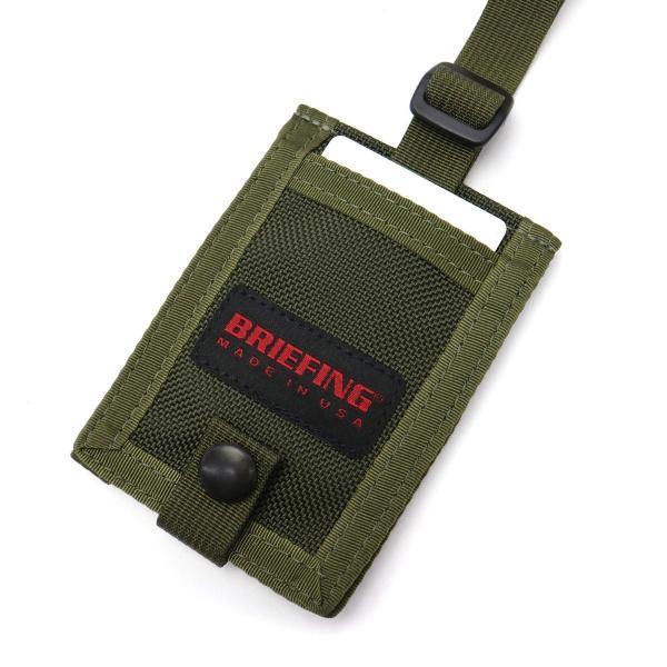 ブリーフィング BRIEFING ネームホルダー NAME HOLDER 定期入れ パスケース ネームタグ メンズ BRF216219|galleria-onlineshop|12