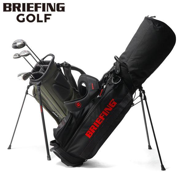 レビューでQUO 日本正規品 ブリーフィング ゴルフ BRIEFING バッグ キャディバッグ スタンド GOLF CR-4 #01 ゴルフバッグ メンズ BRG183701 キャディ