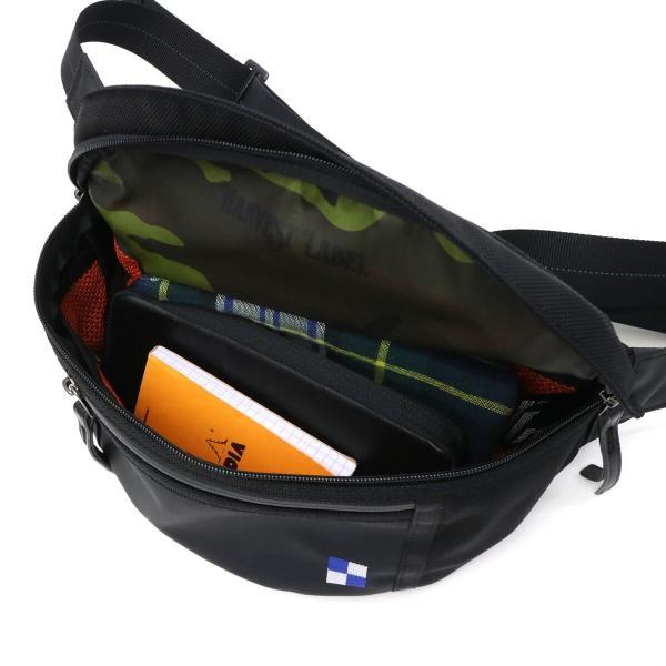 ハーヴェストレーベル ウエストバッグ HARVEST LABEL ハーベストレーベル Bullet Line WAIST BAG HB-0450 メンズ