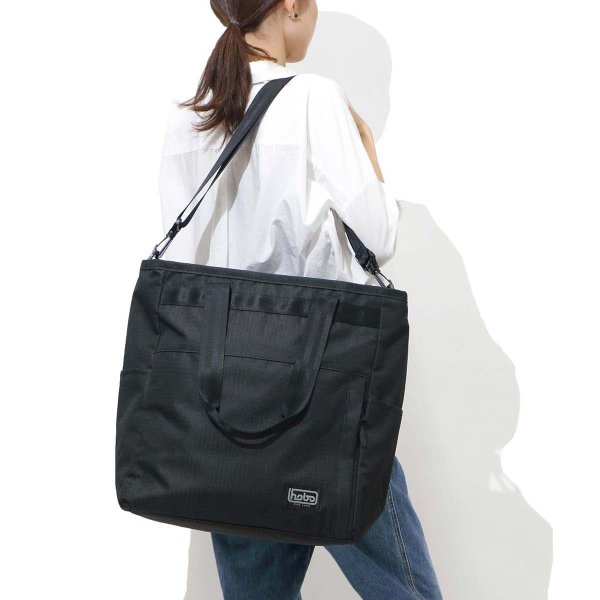 aa77202a4c4f ... セール30%OFF ホーボー トートバッグ hobo 2WAY ショルダー Polyester Ripstop with Waterproof  Zip 2Way ...