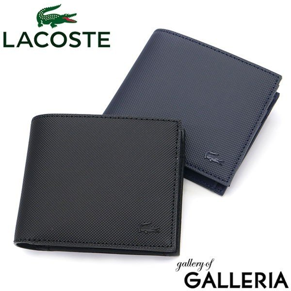 info for 49a5d 3792e 最大19%獲得★9/21迄 ラコステ 二つ折り財布 LACOSTE MEN'S CLASSIC S BILLFOLD WALLET メンズクラシック  財布 カード メンズ レディース 465120 NH2309H