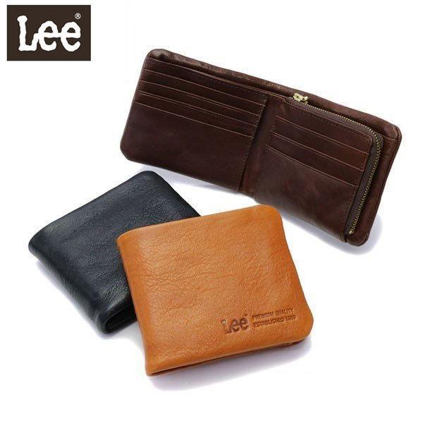 c69518af1591 Lee 財布 LEE リー loose 二つ折り財布 小銭入れ レザー 革 メンズ レディース 320- ...