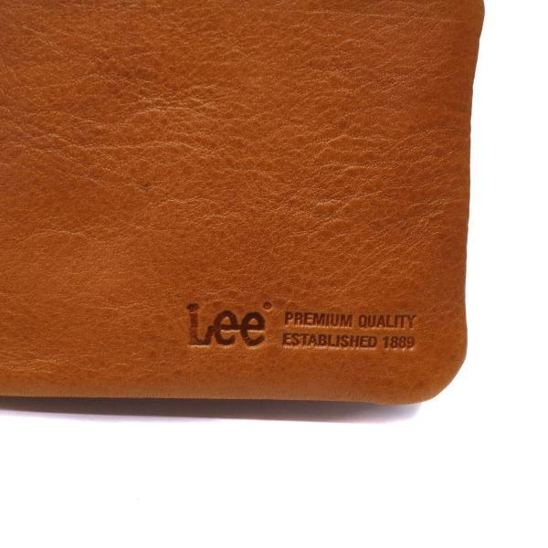 83d557e281ae ... Lee 財布 LEE リー loose 二つ折り財布 小銭入れ レザー 革 メンズ レディース 320- ...