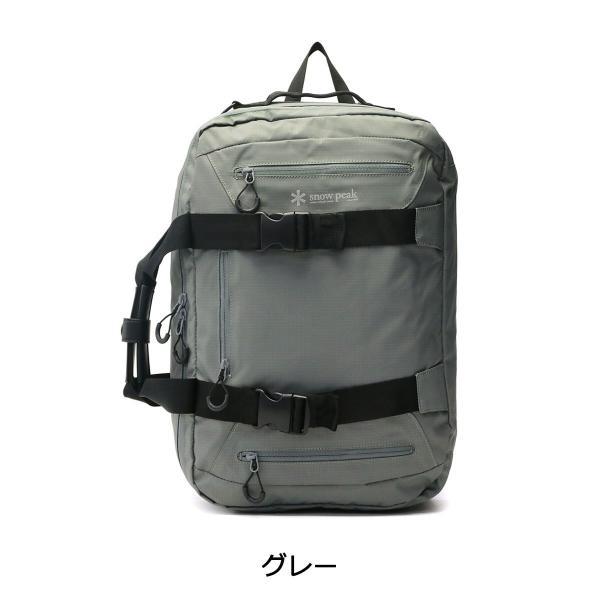 スノーピーク バッグ snow peak ブリーフケース メンズ 3way Business Bag 3WAYブリーフケース UG-729 通勤 B4 galleria-onlineshop 03