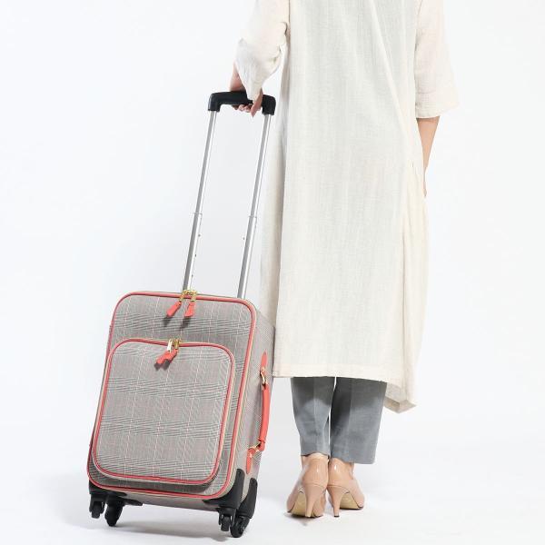 9eae61242b ... ツモリチサト スーツケース tsumori chisato carry キャリーケース グレンチェック 30L 1泊 2泊 S ...