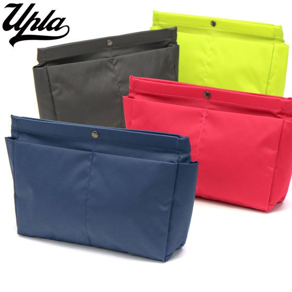 最大10%獲得 ウプラ ポーチ バッグインバッグ UPLA 小物入れ クラッチバッグ レディース BIBLIO BIB3 ビブリオ ナイロン 軽量 軽い