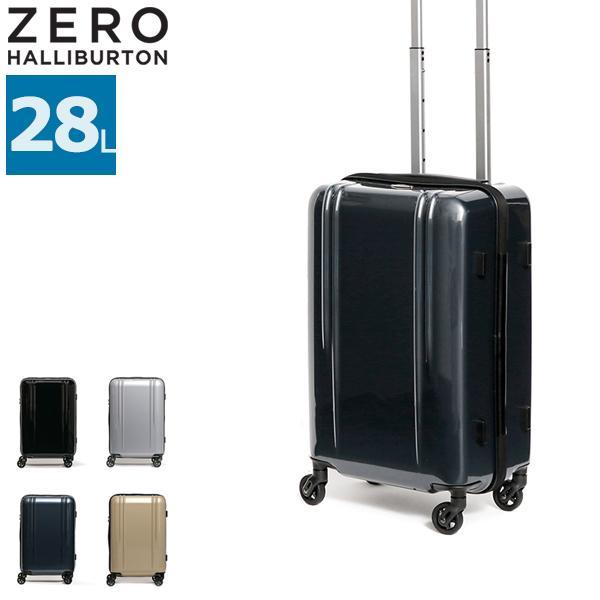 7/25限定★最大37%獲得 セール30%OFF ゼロハリバートン ZERO HALLIBURTON スーツケース 機内持ち込み キャリーケース ジッパー 28L 80581 ZRL Polycarbonate