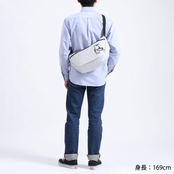 日本正規品 チャムス ショルダーバッグ CHUMS バッグ イージーゴースモールバナナショルダー 斜めがけ 軽量 メンズ レディース CH60-3032|galleria-store|08