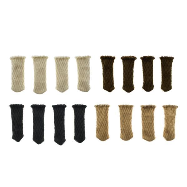椅子脚カバー 脱げない 長方形 おしゃれ インテリア かわいい 内側 滑り止め シリコン ダイニング 食卓 事務所 椅子足カバー  チェアカバー|galleries