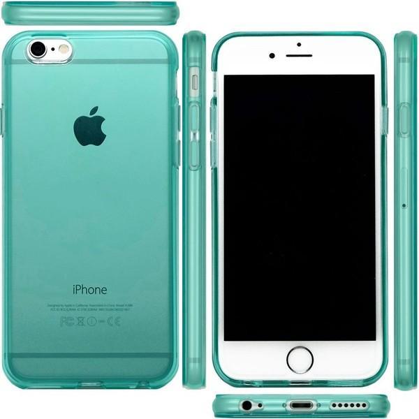 スマホケース iPhone XR  iphone8 iphone7 iPhoneXS X XSMAX iPhone6s plus ケース 耐衝撃 ブルー 緑 ミント|galleries
