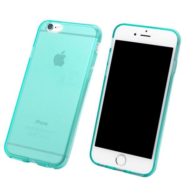 スマホケース iPhone XR  iphone8 iphone7 iPhoneXS X XSMAX iPhone6s plus ケース 耐衝撃 ブルー 緑 ミント|galleries|02