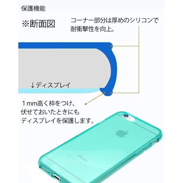 スマホケース iPhone XR  iphone8 iphone7 iPhoneXS X XSMAX iPhone6s plus ケース 耐衝撃 ブルー 緑 ミント|galleries|06