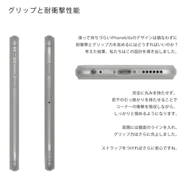 スマホケース シリコン 耐衝撃 iPhone6s ケース カバー クリア アウトレット iPhone6 アイフォン シックス シックスエス 衝撃吸収 TPUケース さらさら|galleries|08