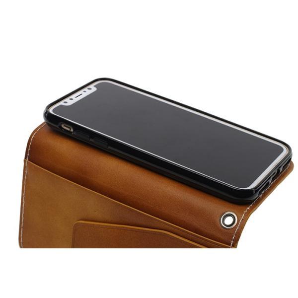 スマホケース 手帳型 iPhone XR  iphone8 iphone7 iPhone XS plus XSMAX レザークラフト 本革 革 ケース おしゃれ ギフト プレゼントに|galleries|12
