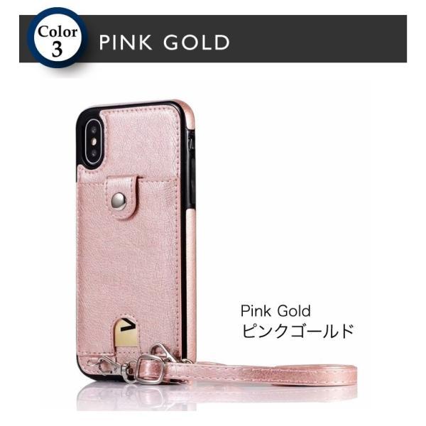 スマホケース ショルダー iPhone 11 11pro 11proMAX XR 8 7 アイフォン 肩掛け ネックストラップ 首掛け カード収納 レディース  メンズ ネックホルダー|galleries|08