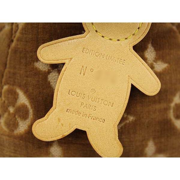 ルイヴィトン ぬいぐるみ モノグラム ドゥドゥ テディベア 世界500個限定 2005年春夏 M99000 LOUIS VUITTON ヴィトン クマ|gallery-rare|08