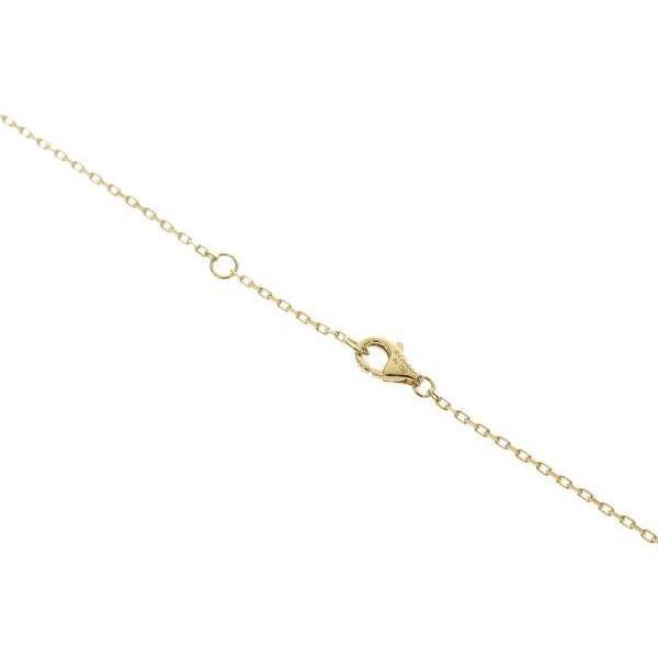 カルティエ ネックレス ジュスト アン クル ダイヤモンド 計0.12ct K18YGイエローゴールド  B7224512 Cartier ジュエリー ジュストアンクル 釘モチーフ