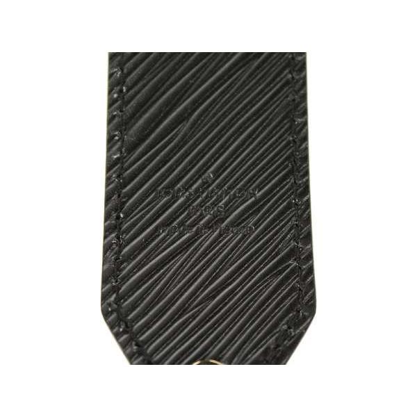 ルイヴィトン ショルダーストラップ  エピ モノグラムフラワー スタッズ J02340 ヴィトン ストラップ 黒