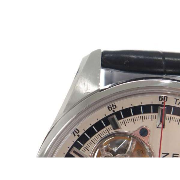 ゼニス クロノマスター エル・プリメロ オープン 03.2040.4061/69.C496 ZENITH 腕時計 バックル|gallery-rare|06