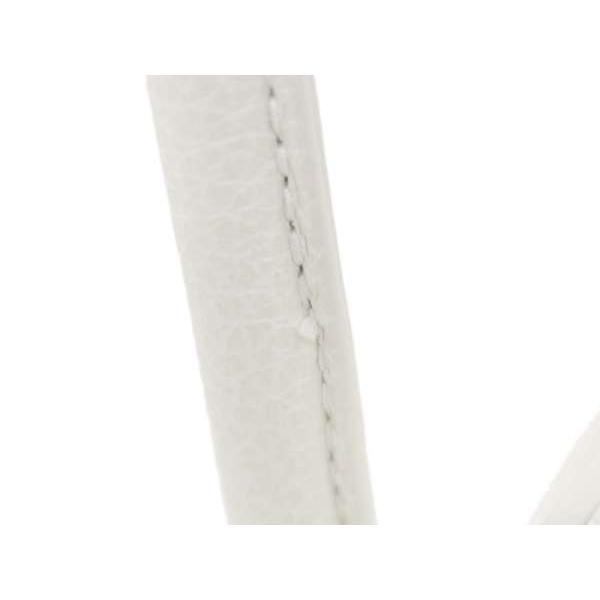 フルラ ハンドバッグ ホワイト レザー 2wayショルダーバッグ 1006038 FURLA バッグ チャーム付き