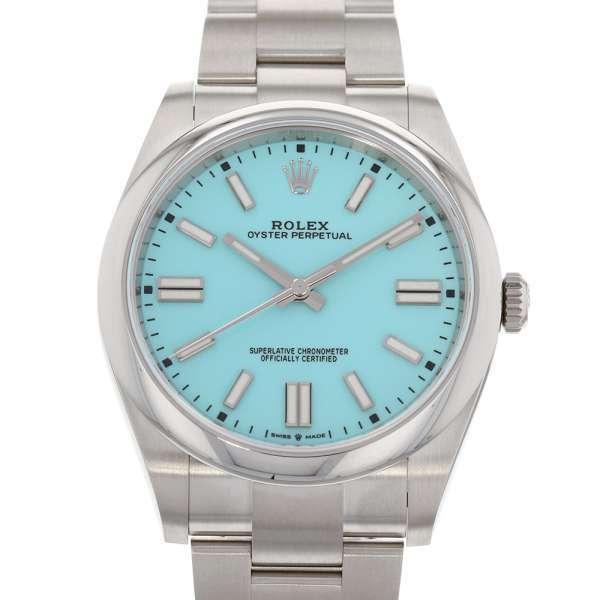 ロレックスオイスターパーペチュアル41ランダムシリアルルーレット124300ROLEX腕時計2020年