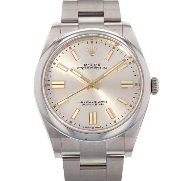 ロレックスオイスターパーペチュアル41124300ランダムROLEX腕時計2020年 シルバー文字盤