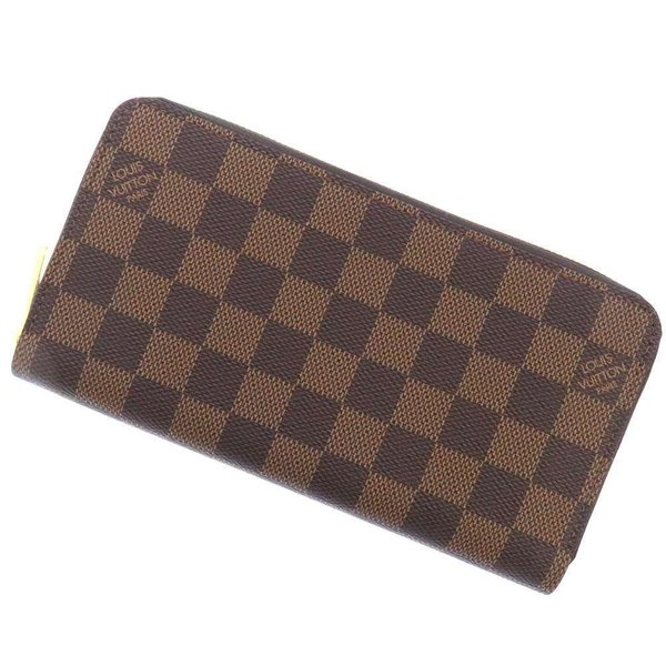 sale retailer a51ce 8a0ee ルイヴィトン 長財布 ダミエ ジッピー・ウォレット N41661 LOUIS VUITTON ヴィトン 財布