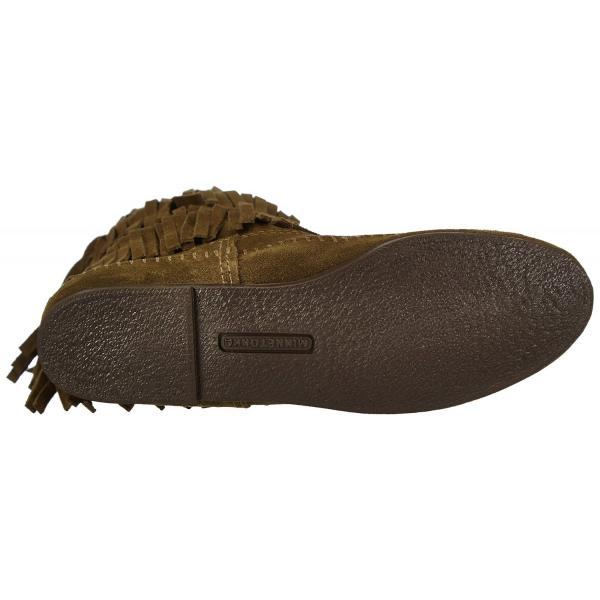 ミネトンカ MINNETONKA モカシン ブーツ フリンジ Calf hi 3-layer fringe boot 3段フリンジ 3レイヤーフリンジブーツ 1635F|gallerymc|06