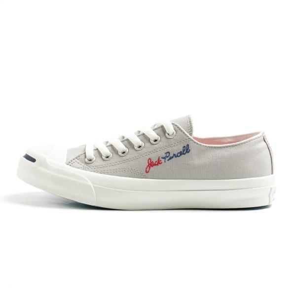 コンバース ジャックパーセル ロゴステッチ RH メンズ レディース ユニセックス ローカット OX スニーカー シューズ 靴 ホワイト グレー|gallerymc|11