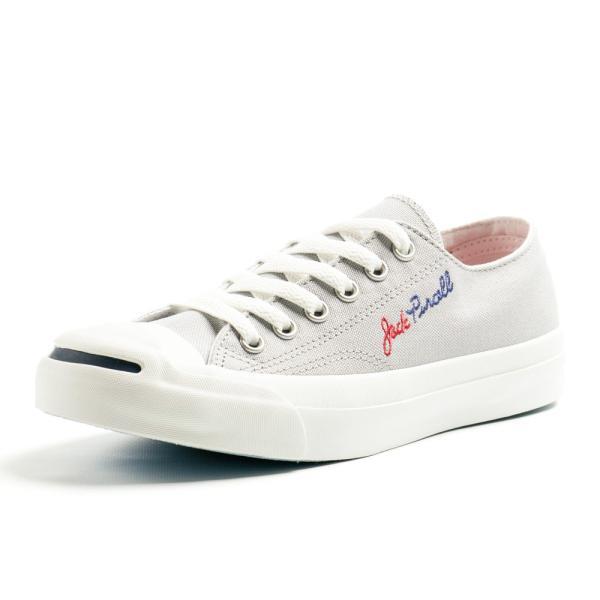 コンバース ジャックパーセル ロゴステッチ RH メンズ レディース ユニセックス ローカット OX スニーカー シューズ 靴 ホワイト グレー|gallerymc|05