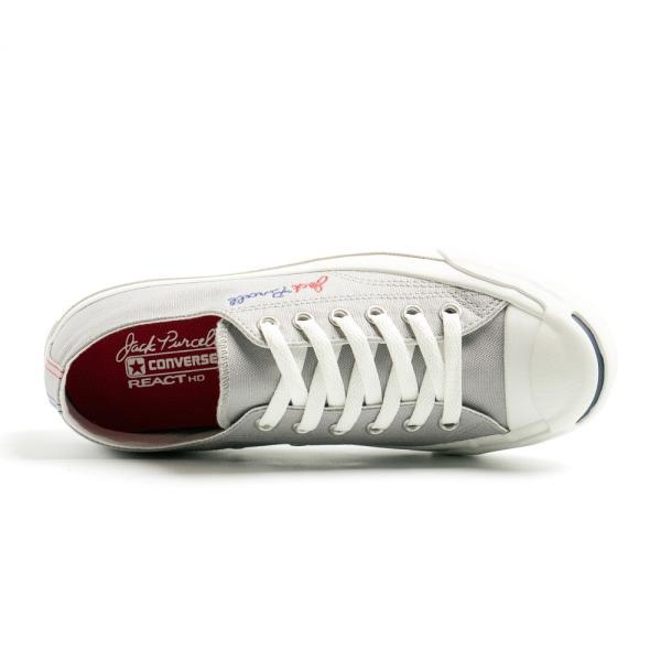 コンバース ジャックパーセル ロゴステッチ RH メンズ レディース ユニセックス ローカット OX スニーカー シューズ 靴 ホワイト グレー|gallerymc|06