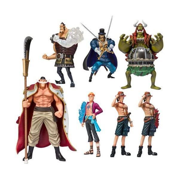 新品未開封  ワンピース 超造形魂 白ひげ海賊団 8個入BOX