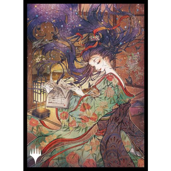 マジック:ザ・ギャザリング プレイヤーズカードスリーブ MTGS-171 日本画ミスティカルアーカイブ 《儚い存在》 [エンスカイ] 2021年11月5日発売予定
