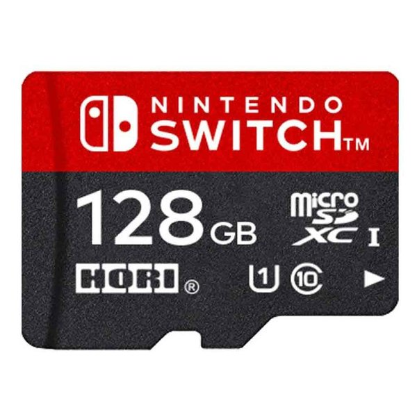新品NintendoSwitch用マイクロSDカード128GBforNintendoSwitch(任天堂ライセンス商品)HORI